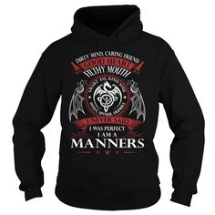 MANNERS Good Heart - Last Name, Surname TShirts