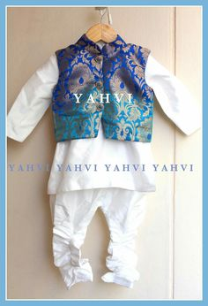 Small Boy Dress, Baby Boy Dress, Baby Boy Outfits, Children Outfits, Boys Clothes Style, Kids Clothes Boys, Kids Boys, New Saree Blouse Designs, Kids Blouse Designs