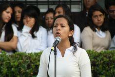 La declamación también formó parte de las actividades desarrolladas por los estudiantes del #P02Jiutepec en el evento #FamaPorUnDía
