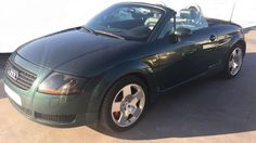 2000 Audi TT T cabriolet manual convertible sports - Cars for sale in Spain Audi Tt, Audi For Sale, Malaga, Sports Cars For Sale, New Tyres, Convertible, Manual, Textbook, User Guide