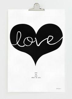 Axel & Berg is offline Big Love, Posters, Decor, Decorating, Poster, Decoration, Inredning, Banners, Dekoration