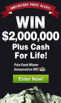 PCH com - NBC Win $7,000 00 A Week For Life Sweepstakes