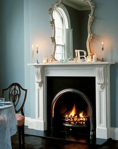 Would Love To Have A Fireplace In Our Dining Room