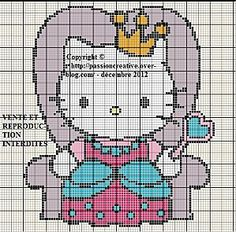 Hello-Kitty-- cute, quick, mindless- stitch in hand - punch holes in index card for precut floss and tuck the whole thing in ziplock sandwich bag in purse