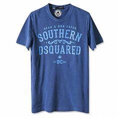 (ディースクエアード) DSQUARED2 S74GC0843 S20696 476 プリント Tシャツ 半袖 ブルー (並行輸入品) RICHJUNE (S) DSQUARED2(ディースクエアード) http://www.amazon.co.jp/dp/B011Z2YUA2/ref=cm_sw_r_pi_dp_tvN3vb01XYG7J