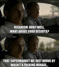 """""""You didn't climb to the top of the food chain, you drove to the super market"""" 😂 veganism is a serious subject so I decide to add some comedy to ease the pain"""