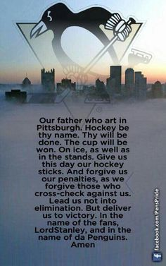 This is WAY BETTER than the original! Love me some Pittsburgh hockey! Let's go Pens! Pens Hockey, Hockey Memes, Hockey Quotes, Ice Hockey, Hockey Stuff, Sports Memes, Pittsburgh Penguins Hockey, Pittsburgh Steelers, Lets Go Pens