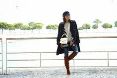 I love Fita Métrica: Stripes over stripes!