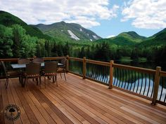 Kurt Hinds Building & Renovation LLC builds custom decks in vinyl, composite and exotic hardwoods, such as the beautiful example of Ipe, a hardwood also known as ironwood.