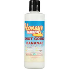 Honey's Handmade Knot Going Bananas Conditioner, 8 fl oz