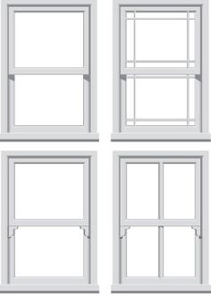 Sliding Sash Windows - ever since I was a little girl, and we stayed in a beautiful hotel in Windermere that had them, I've wanted real working sliding sash windows and now I'm all grown up I will finally be getting them. I so can't wait to start building