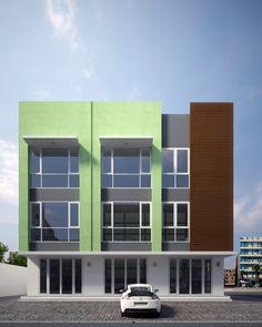 Fasad Ruko Modern : fasad, modern, Ideas, House,, Facade,, Architecture