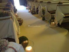 La moquet nella navata di Anaphalis Creazioni ed Eventi | Foto 15