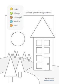 Ännu mer Konstens grunder NR 2 – Figurer och Former Math Games For Kids, Kids Math Worksheets, Maths Puzzles, Numbers Preschool, Preschool Math, Teaching Tips, Teaching Math, Learn Swedish, Classroom Inspiration