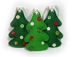 Felt Christmas Tree Decoration