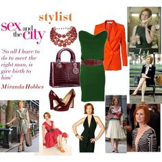 Sex and the City - Miranda Hobbes, created by taggica on Polyvore
