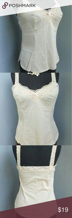 Vintage Nude Color Ogla Cami Great Condition, 100% Nylon Size XL Vintage Intimates & Sleepwear Chemises & Slips