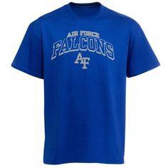 Air Force Falcons Archibald T-Shirt - Royal Blue