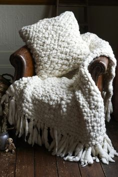 Don't forget to take your thickest knit blankets out of storage as soon as the weather dips below 65 degrees.
