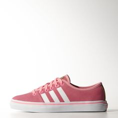 Timeless and easy to wear, the Adria Low does justice to adidas Originals' sense of casual style. These women's shoes come in bright suede with matching edging on the vulcanized rubber outsole. They are finished with printed 3-Stripes a contrast heel strip.