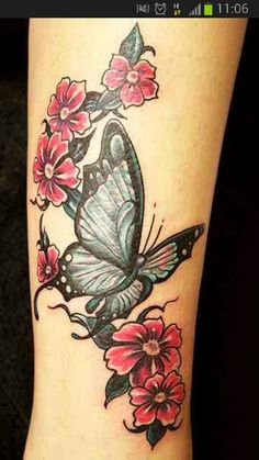 This but with bigger flowers and smaller butterfly