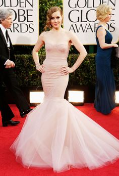 The Best Dresses from the 2013 Golden Globes : Brides (Best Blush Simple)