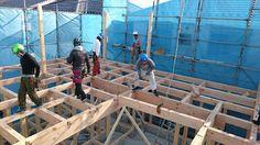 健康住宅とリフォーム minoyaの家: 工事現場報告 三重県 四日市市 全館空調 自然素材 注文住宅 みのやの家