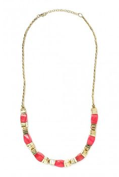 Type 3 Twisted Fire Necklace - $21.97