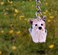 Yorkshire Biewer Terrier sleutelhanger