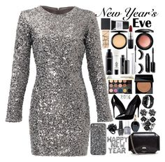 """Happy New Year!"" by chawy-mk ❤ liked on Polyvore featuring Slate & Willow, NARS Cosmetics, MAC Cosmetics, Urban Decay, Smashbox, Bobbi Brown Cosmetics, Dolce&Gabbana, Givenchy, Eddie Borgo and Roberto Cavalli"