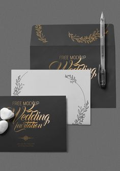 Have your eyes on this gorgeous wedding invitation card. #free #freebie #mockup #psd #photoshop #card #invitation # weddinginvitation #presentation