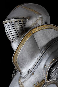 This armour is the greatest of the Greenwich garnitures made for King Henry VIII.