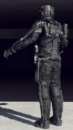 Advanced Warfare: ATLAS Exoskeleton – Character Models