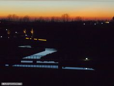 Night falls down in BO Westpark