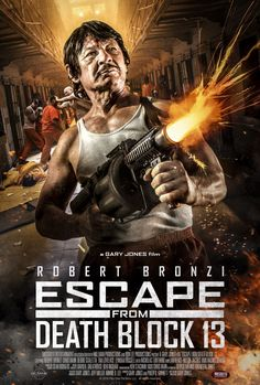 Bronson look-alike stars in prison film Escape from Death Block 13 Action Movie Poster, Best Movie Posters, Best Action Movies, Great Movies, Actor Charles Bronson, The Daughter Movie, Post Apocalyptic Movies, The Expendables, Official Trailer