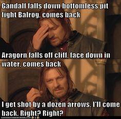 Sorry, Boromir. Lol.
