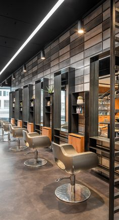 - Best ideas for decoration and makeup - Modern Barber Shop, Best Barber Shop, Barber Shop Interior, Barber Shop Decor, Hair Salon Interior, Interior Design Gallery, Salon Interior Design, Interior Design Software, Beauty Salon Decor