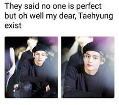 """""""Dicono che nessuno è perfetto ma oh bene il mio caro Taehyung esiste"""""""