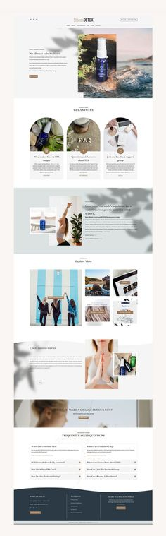 Olivia Pro is a beautiful and modern WordPress Theme perfect for health and wellness coaches such as a podcast or yoga instructor. #Divi #Coaches #Business #Showcasae