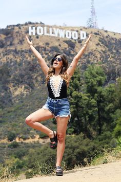 Dulceida - HOLLYWOOD SIGN