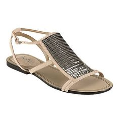 these pretty sandals might have the right amount of sparkle for a white dress!