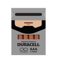 Duracell Promo Packaging by Spencer Bigum, via Behance