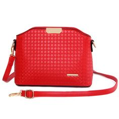Elegant Women's Crossbody Bag With Checked and Metal Design #men, #hats, #watches, #belts, #fashion