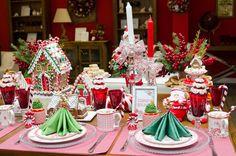 O resultado final: cada prato com sua mini árvore de Natal!