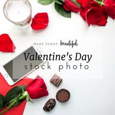 Valentines Day stock photo, stock photo, styled stock photography, lifestyle photo, lifestyle photography, blogger photo, marketing photo, flatlays, love photo, product photography   Miesha Moriniere - Make Today Beautiful