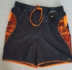 07b352ae6f Nike Bathing Suit Black Orange Size L Large 32