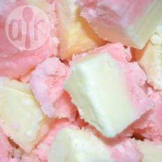 Creamy Coconut Ice