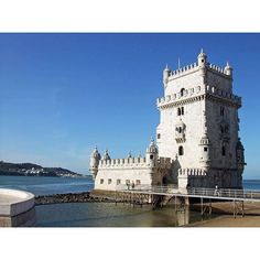 Starting our weekend with a #Flashback to the Belém Tower in Lisbon! What destinations are on your #BucketList? #3rdRockAdventures #Portugal
