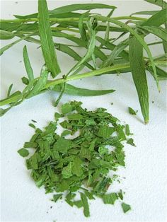 How to dry fresh herbs in 30 seconds.