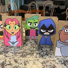 Maria added a photo of their purchase Diy Birthday Party Favors, Mickey Mouse Party Favors, Party Favor Bags, Gift Bags, Care Bear Birthday, Care Bear Party, Unicorn Birthday, Mermaid Birthday, 8th Birthday